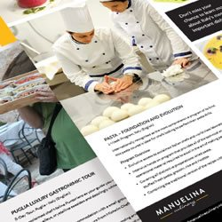 Manuelina Culinary inspiration page